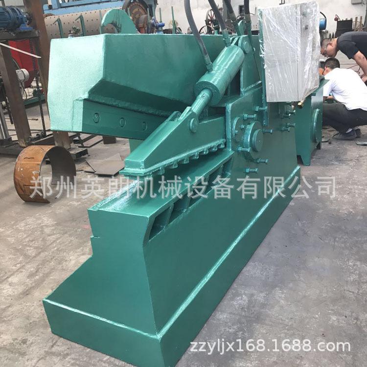 报废汽车鳄鱼剪 重型金属废料废铁剪切机 高压力200吨废钢剪断机示例图11