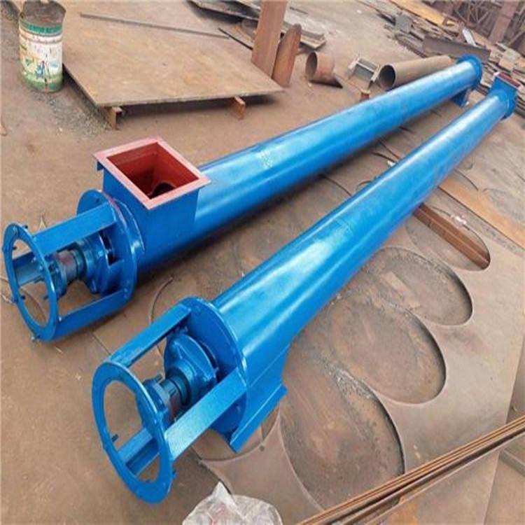 供應  單軸螺旋給料機   U型螺旋輸送機   蛟龍輸送設備   啟辰廠家