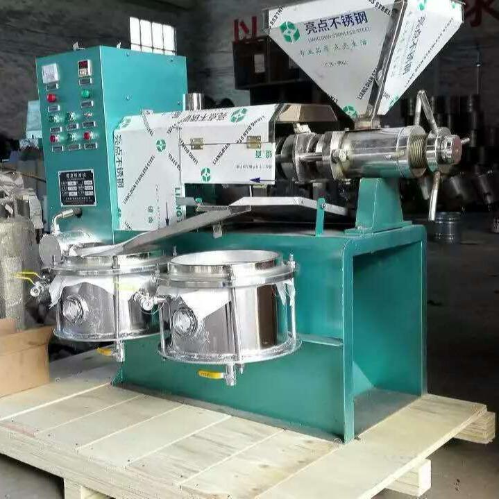 厂家专业生产销售多功能榨油机 菜籽芝麻商用螺旋榨油机 创业帮手