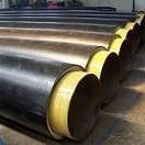 预制直埋聚氨酯管  65聚氨酯保温管  65直埋聚氨酯钢管制造商