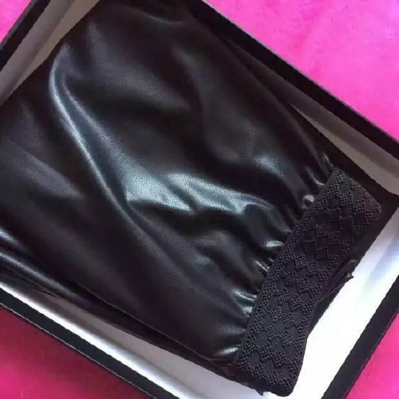 MK皮褲加厚亮光色女式打底褲示例圖7
