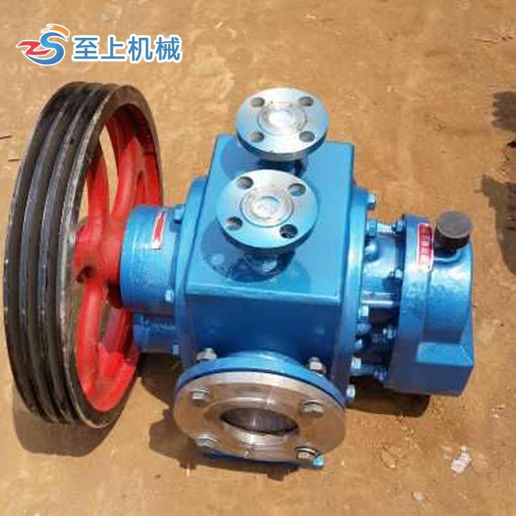 高粘度羅茨泵 瀝青保溫羅茨泵 LC38/0.6糖漿輸送泵 河北至上機械專業生產