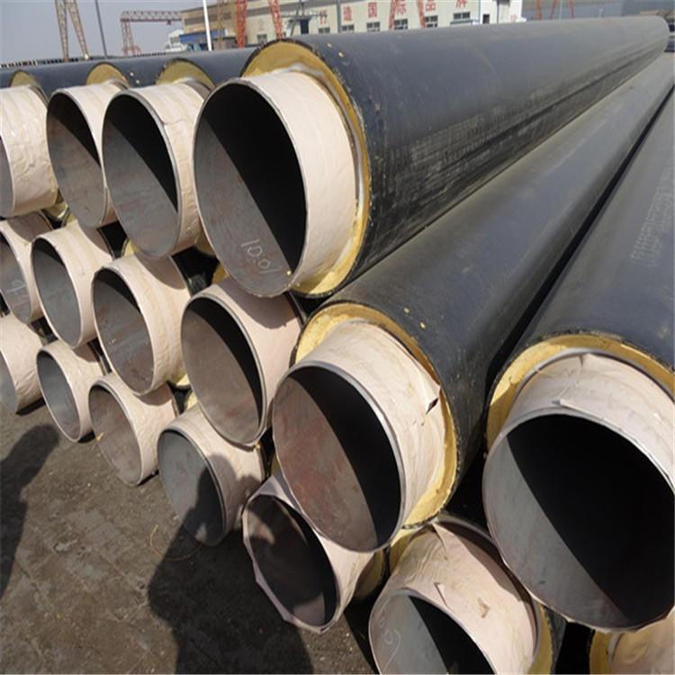 龙都直销 缠绕玻璃钢保温管道 钢套钢直埋保温防腐钢管