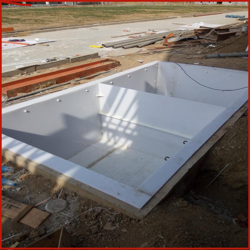 加工pp板材 塑料板定做水箱 焊接 冷却循环水箱 酸洗槽批发示例图9