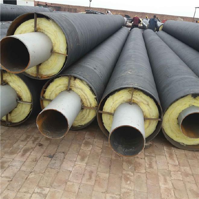 厂家直销 保温钢管 钢套钢保温钢管 定制 内保温外防腐钢管示例图5