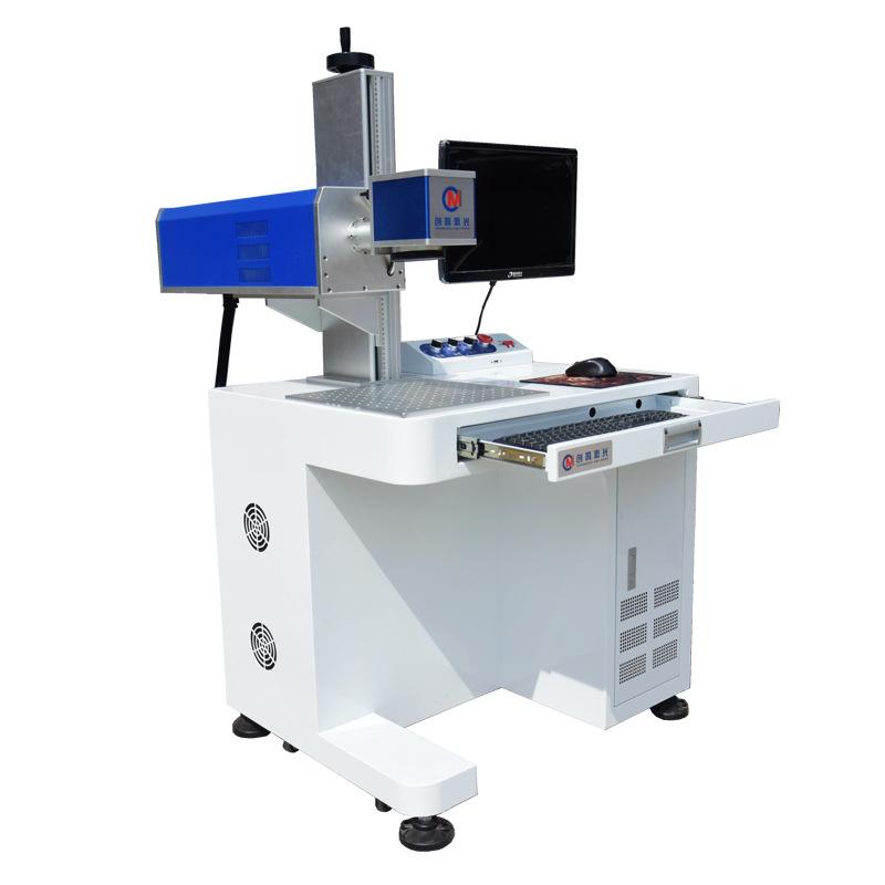 眼镜镜片激光打标机  亚克力镜片激光刻字机  PC镜片激光打标机示例图4