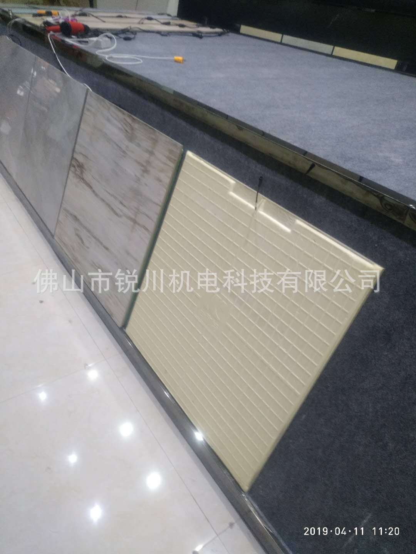 电热瓷砖电热地暖发热地砖电热地板砖电热地板聚氨酯高压发泡机示例图8