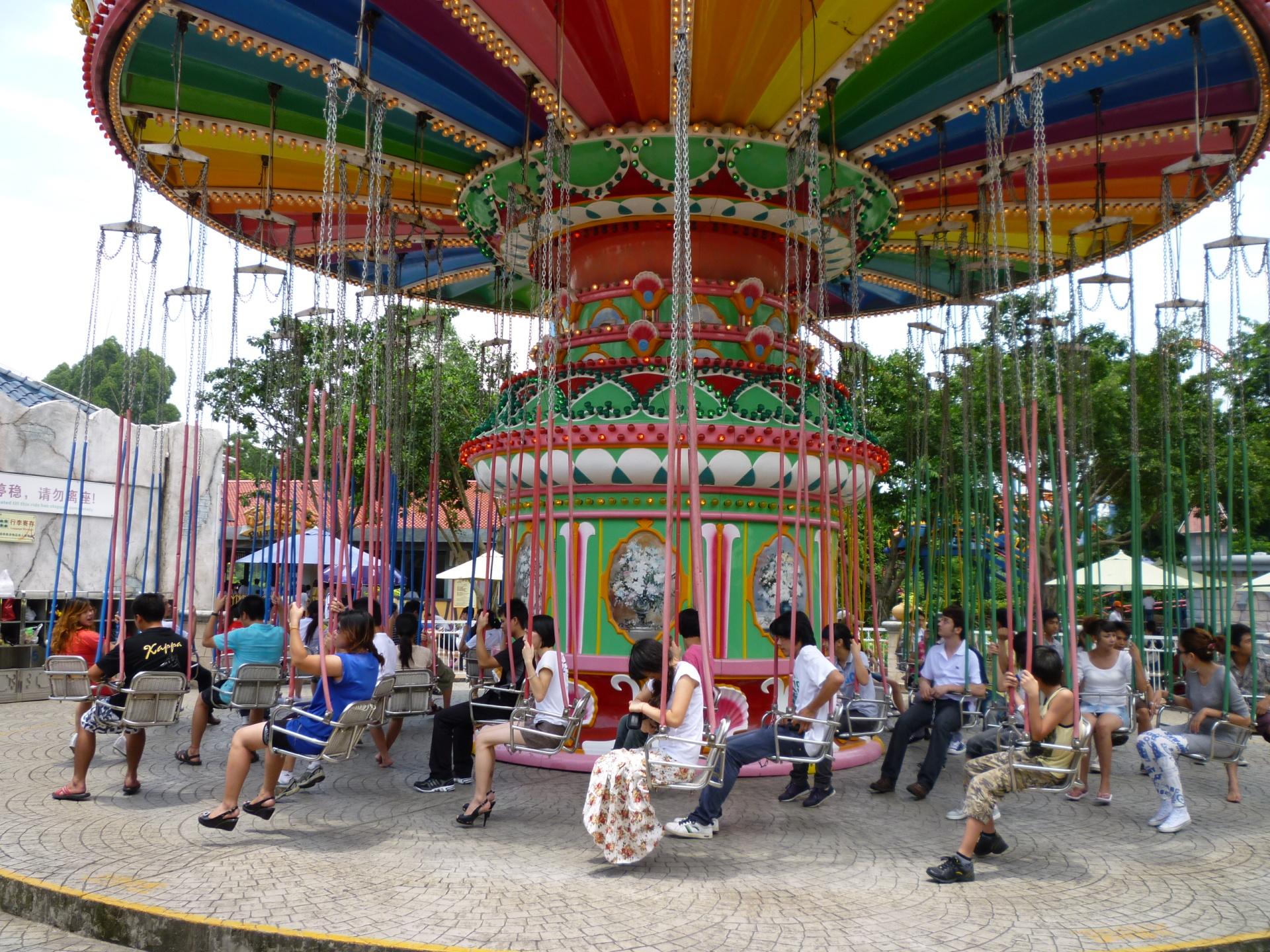 2020新品上市大型游乐设备飓风飞椅 郑州大洋升降摇头24座豪华飞椅示例图15