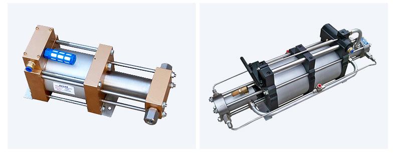 现货供应气体增压泵增压快 工业小型压缩空气气动增压泵 质优价廉示例图15