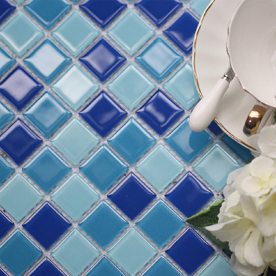 蓝色马赛克砖_供应蓝色 高端标准泳池水晶玻璃马赛克瓷片砖马赛克厂家直销 ...