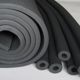 橡塑保溫板 橡塑保溫管 B1阻燃型橡塑膠水 橡塑膠帶 新疆烏魯木齊供應廠家現貨充足