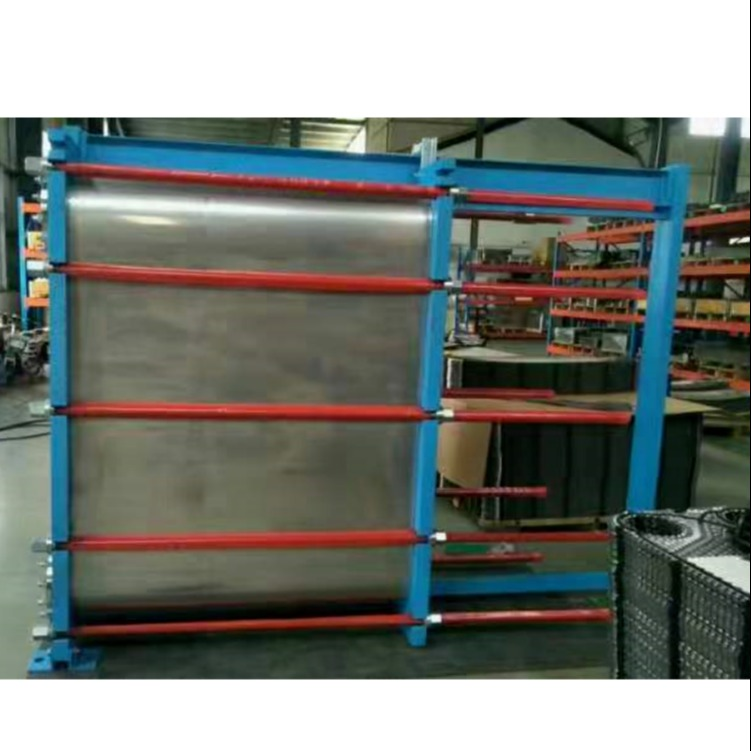 連云港赫普斯進料水冷卻換熱器清洗維護