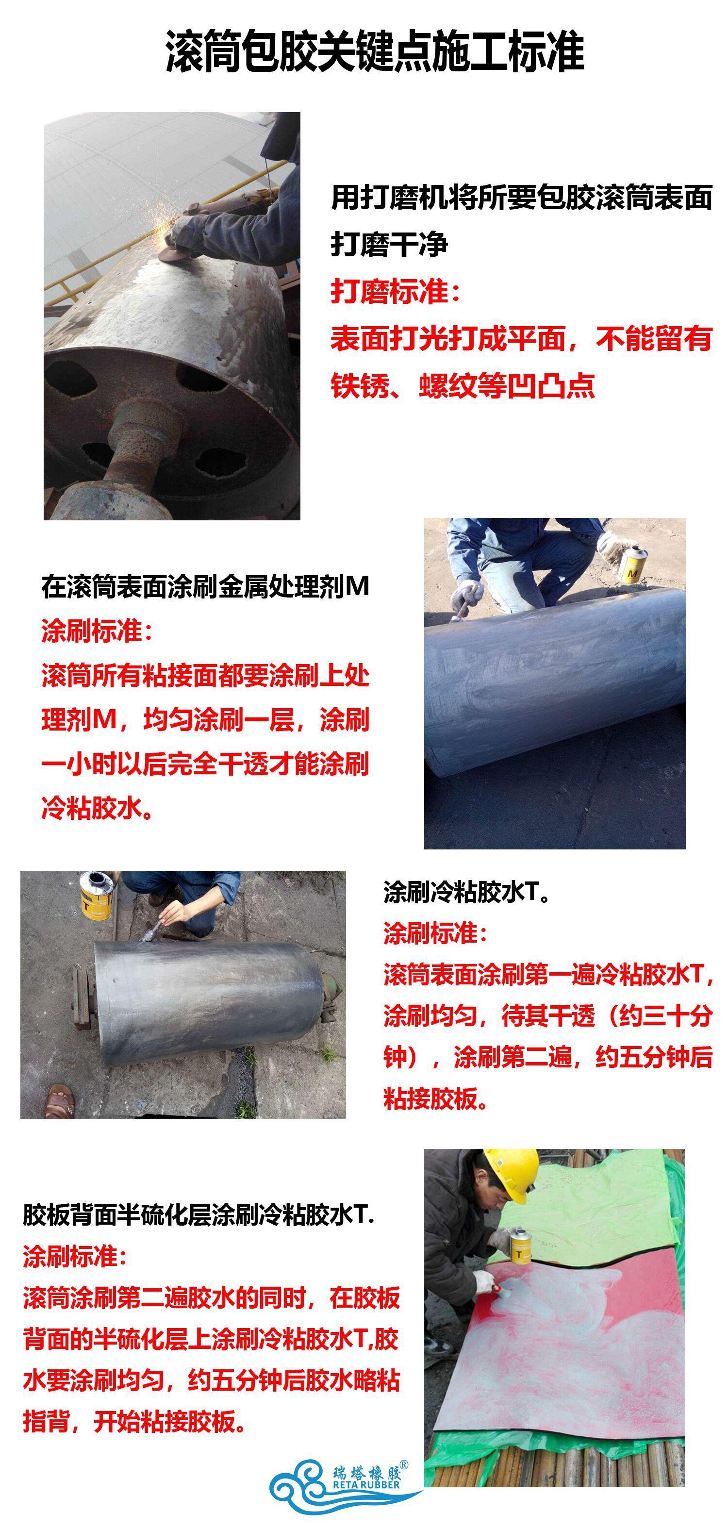 cn层滚筒包胶胶板 耐磨冷硫化cn层滚筒包胶胶板厂家示例图23
