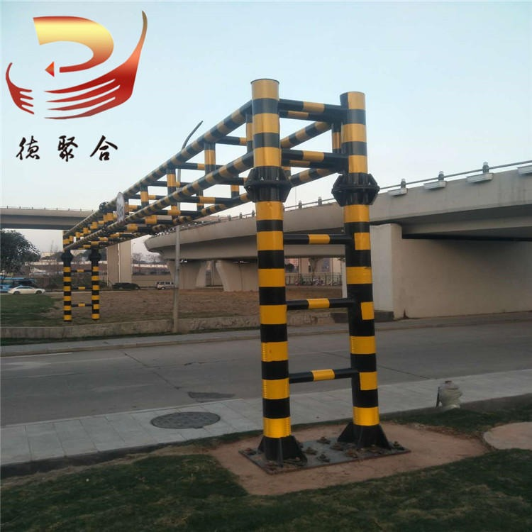 供應縣鄉道路限高架 高速路ETC龍門架手動限高桿簡易龍門架定制