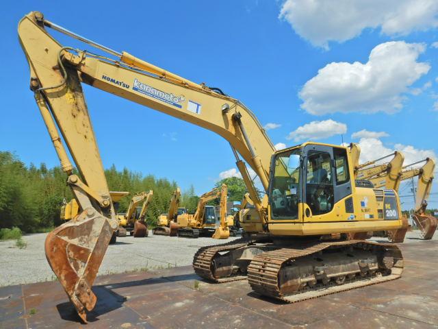 小松PC200-8N1原装进口二手挖掘机价格 二手大型挖掘机出售示例图4