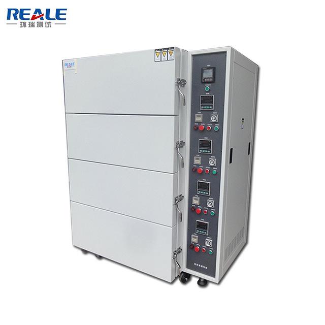 REALE/环瑞测试 定制四层烤箱 大型高温热风循环烘箱 工业烤箱 恒温烤箱