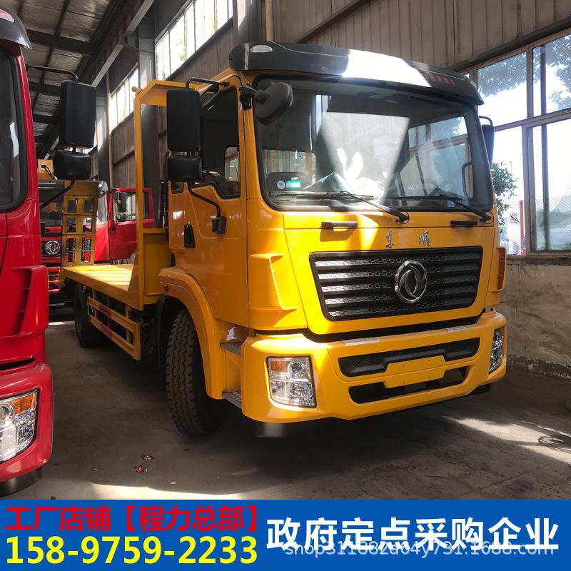 東風多利卡12噸挖掘機平板運輸車挖機平板拖車工程機械運輸車廠家示例圖7