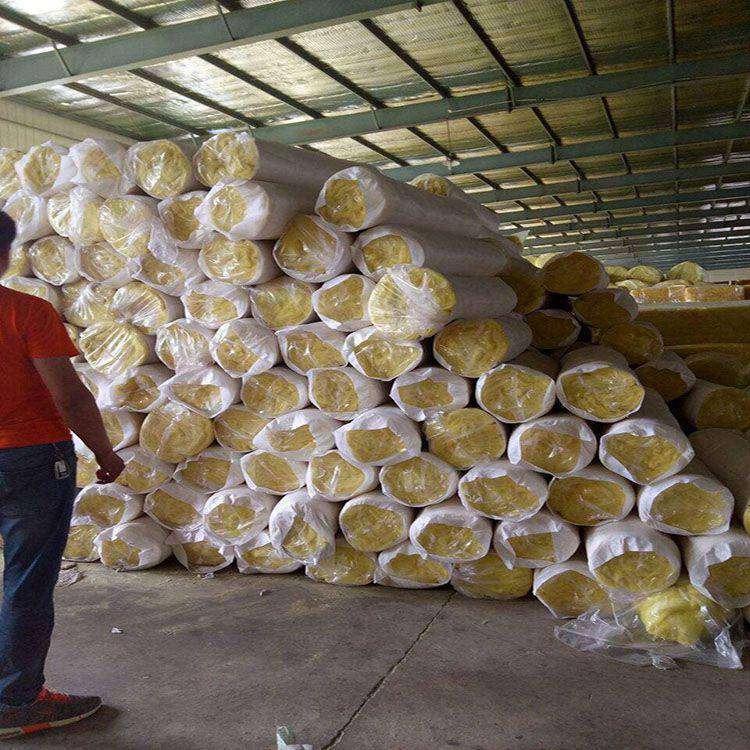玻璃棉卷氈 養殖大棚用A級防火玻璃棉卷氈 保溫棉 供應商福森