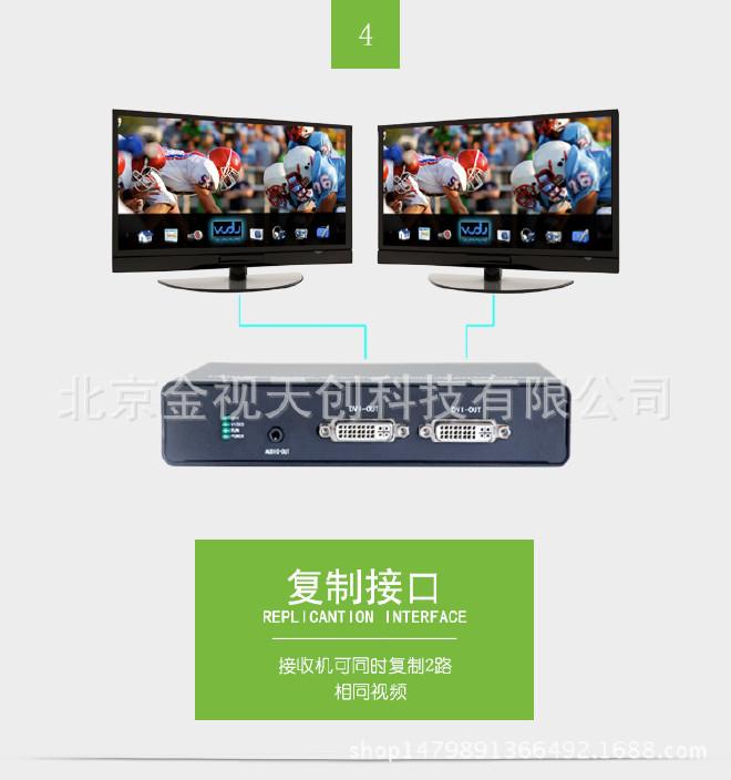 DVI光端机DVI光端机带环出DVI+音频+数据光端机示例图5