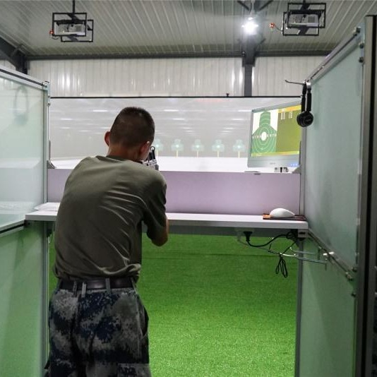 影像打靶訓練  投影顯示靶面  激光模擬打靶系統 95模擬器 多種距離可選擇