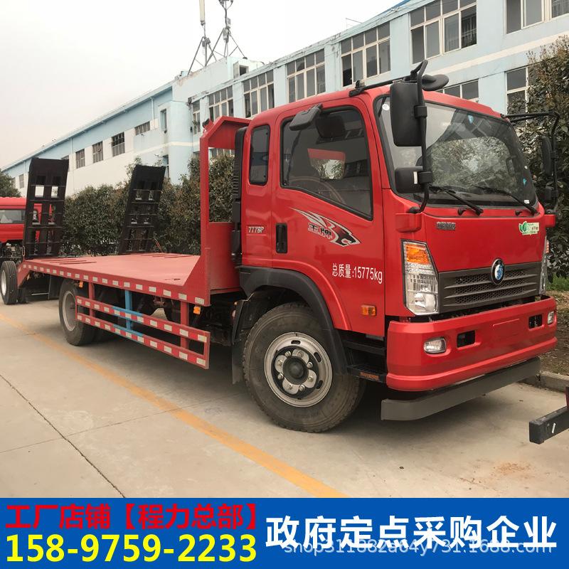 多功能挖機拖板車壓路機運輸車挖機平板車工程機械運輸車全國分期示例圖18