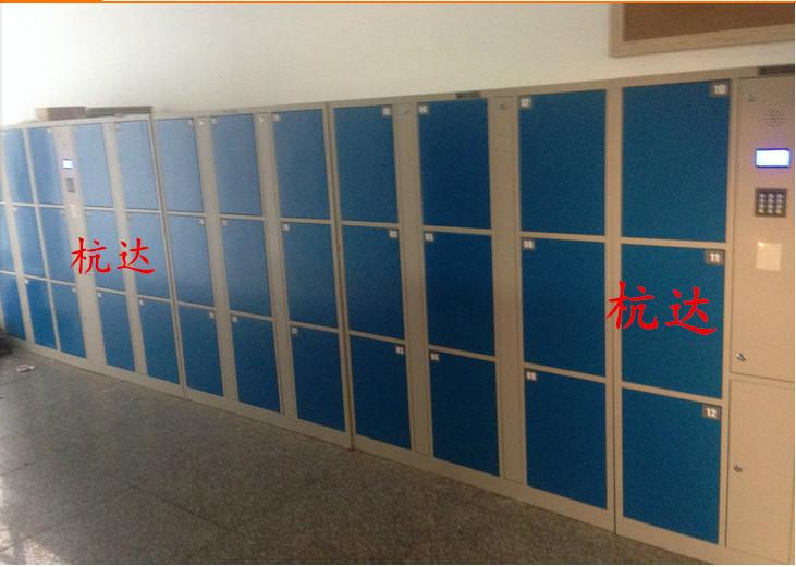 厂家供应智能12门-48门指纹存包柜遥控器开门,自己设置一人一门示例图2