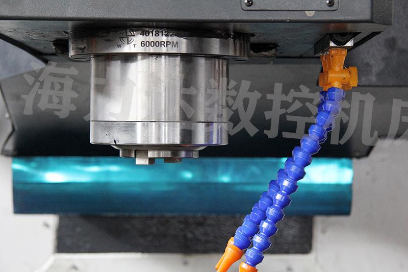 厂家直销数控钻铣中心山东海力达zxk-2010半防护钻铣床xyz大行程示例图15