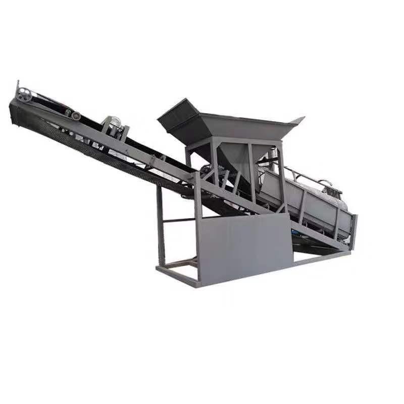 中言机械 小型移动筛沙机 折叠滚筒筛沙机50型 震动筛20型 砂石分离机