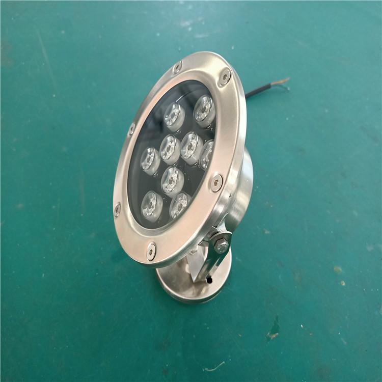 公园广场水池水底灯 宾凯照明 水晶七彩发光led灯 水下嵌入式LED埋地灯 大量出售