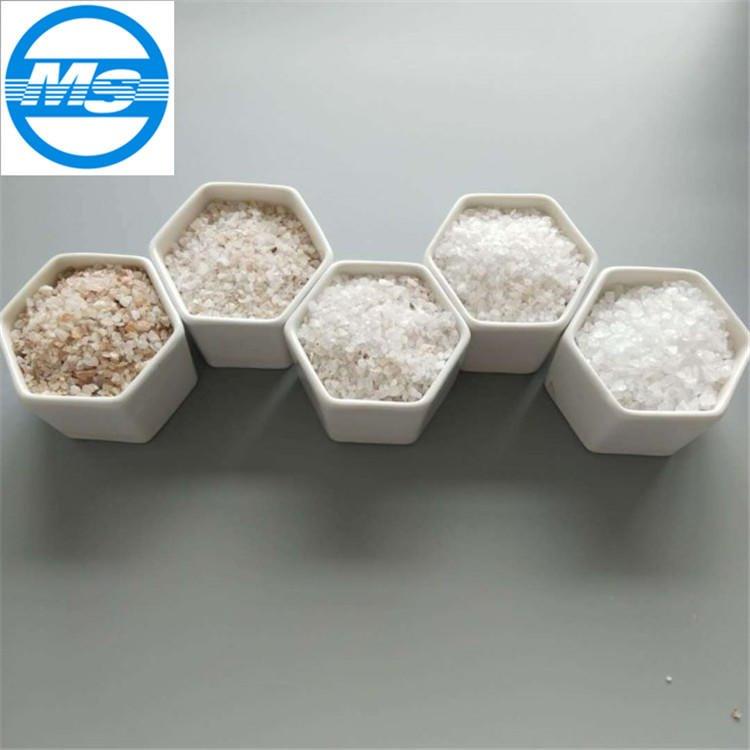 安阳,林州石英砂生产厂家 1-2mm喷砂除锈石英砂厂家直销