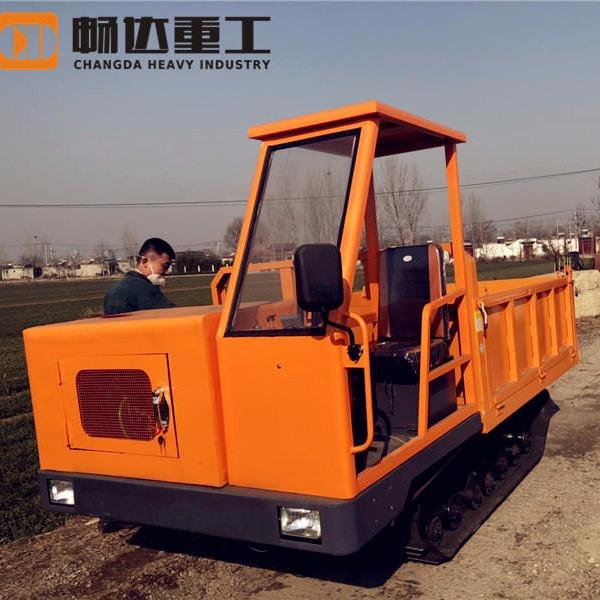 農用履帶運輸車 全地形履帶車 農用履帶運輸車價格 暢達5T履帶式運輸車