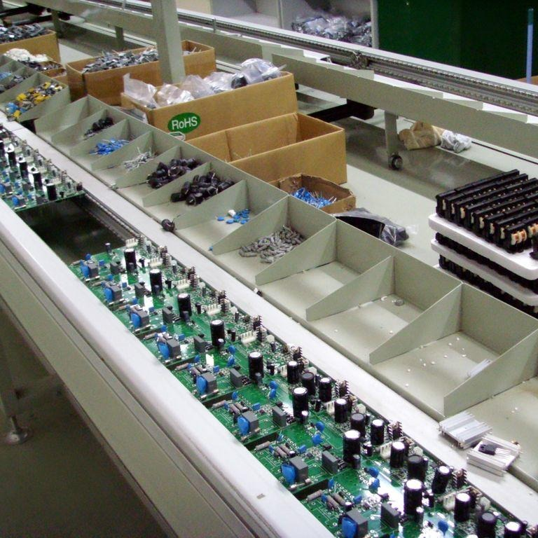 馭動力電子廠流水線 YDLCJ 50-300調節范圍 自動傳輸 不銹鋼尼龍鏈條