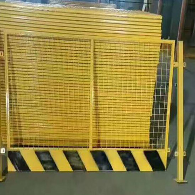 临边基坑护栏 价格优惠厂家现货 喷塑隔离基坑防护栏 云旭 交通路障设施
