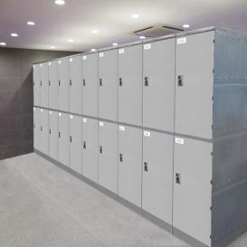 全新产品现货供应 ABS塑料更衣柜 浴室、健身房、澡堂更衣柜 员工宿舍储物柜