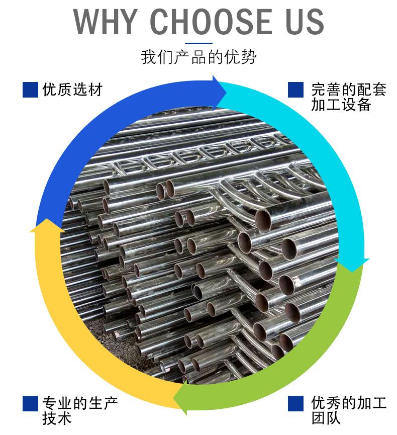 護欄鋼板立柱 不銹鋼復合管護欄鋼板立柱 防撞護欄鋼板立柱加工示例圖4