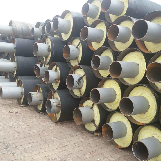 工厂定制 防腐钢管 钢套钢防腐钢管 加工 环氧煤沥青防腐钢管示例图6