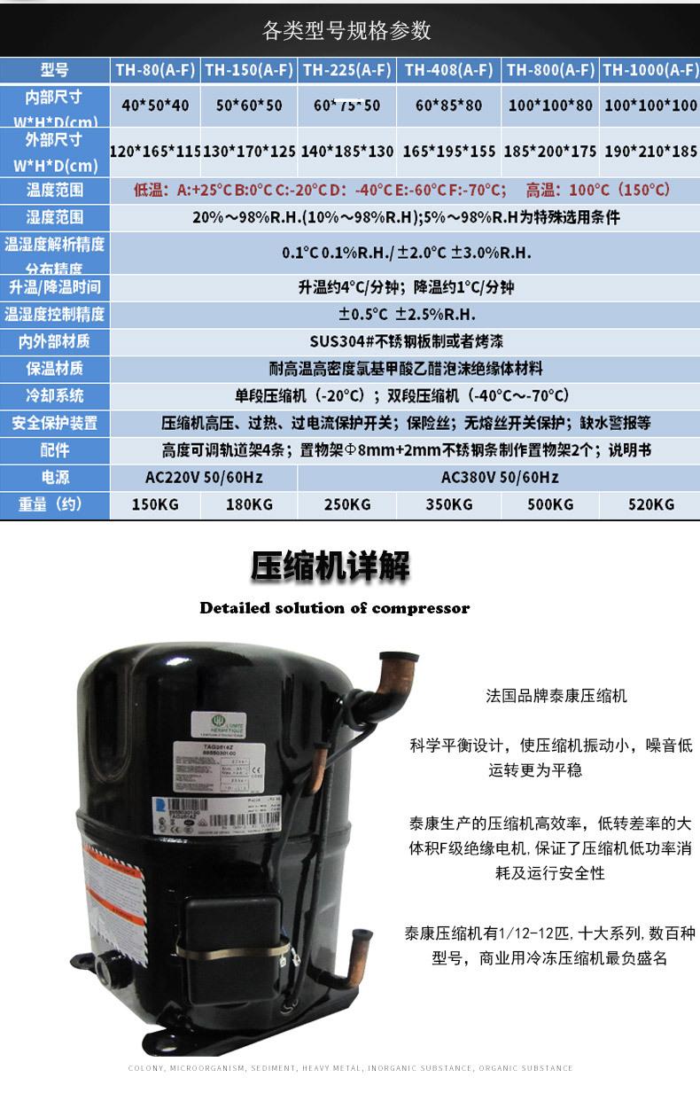 长期供应 不锈钢恒温恒湿试验箱 工业用恒温恒湿试验箱示例图4