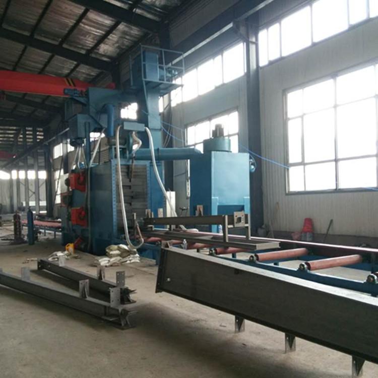 H型钢组立机江苏厂家  品质100%保证 7天包退换的钢结构组立机示例图6