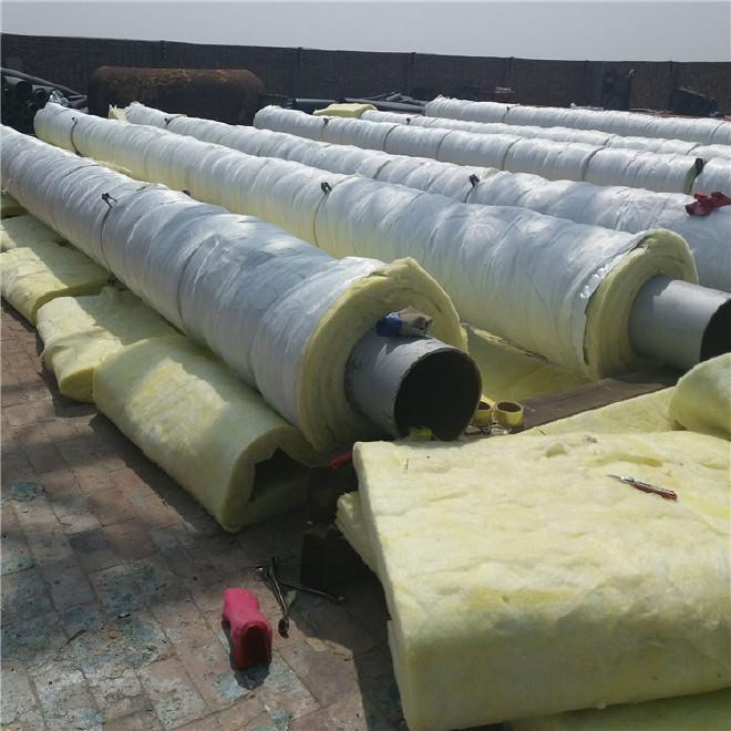 厂家直销 保温钢管 钢套钢蒸汽保温管 加工定做 管中管保温钢管示例图7