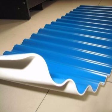 虹鑫pvc波纹瓦 塑胶瓦 防腐蚀厂房瓦 屋顶隔热效果好 安装快捷