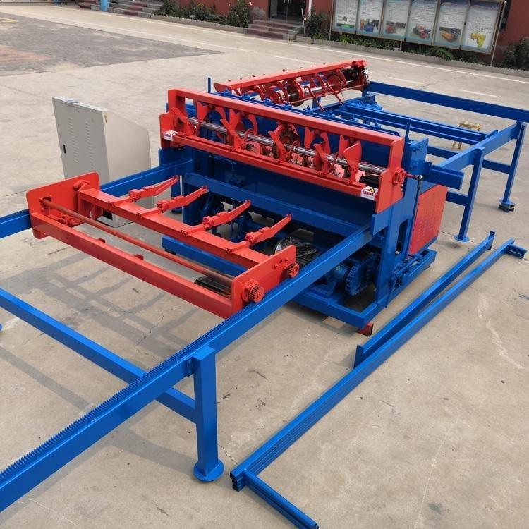 新型煤矿焊网机   竖丝移动落丝焊网机     自动布料焊网机
