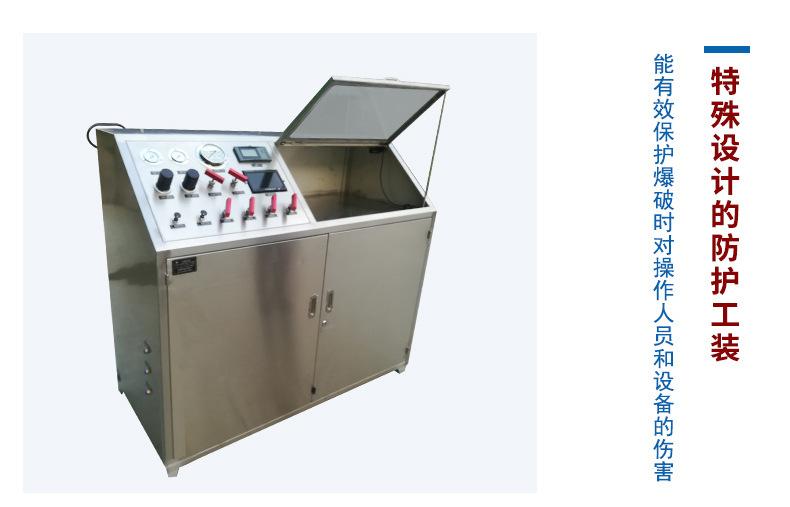 厂家直发全自动压力试验机 爆破强度实验设备 经验指导示例图9