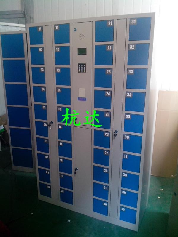 厂家供应杭达指纹手机柜指纹存包柜 电子寄存储物柜1800*1300*280示例图7