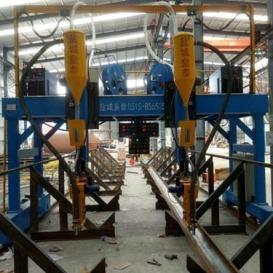 H钢自动焊接设备2019款 非标定制 现货直销江西钢结构焊接流水线