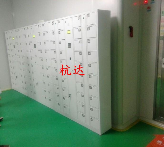 公司刷卡联网电子更衣柜杭州第九中学校联网书包柜储物柜示例图4