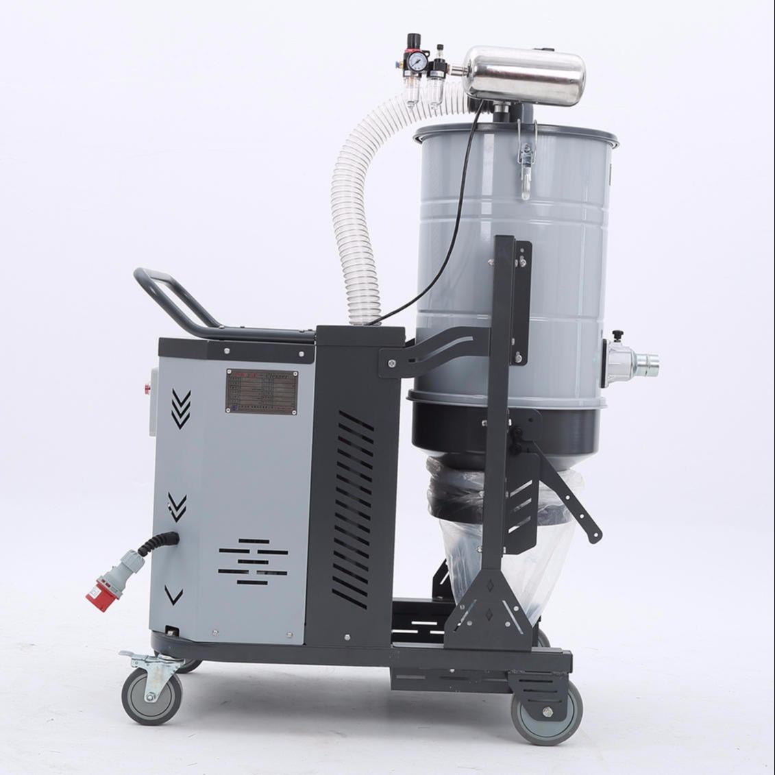 地坪粉塵吸塵器 環氧樹脂粉塵吸塵器 水泥地面研磨脈沖旋風吸塵器