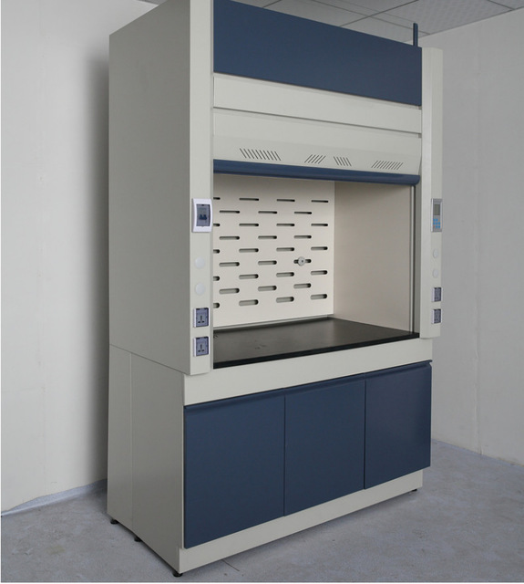 中多浩实验室全钢通风柜 排风柜实验台边台全钢抽风通风柜厂家直销