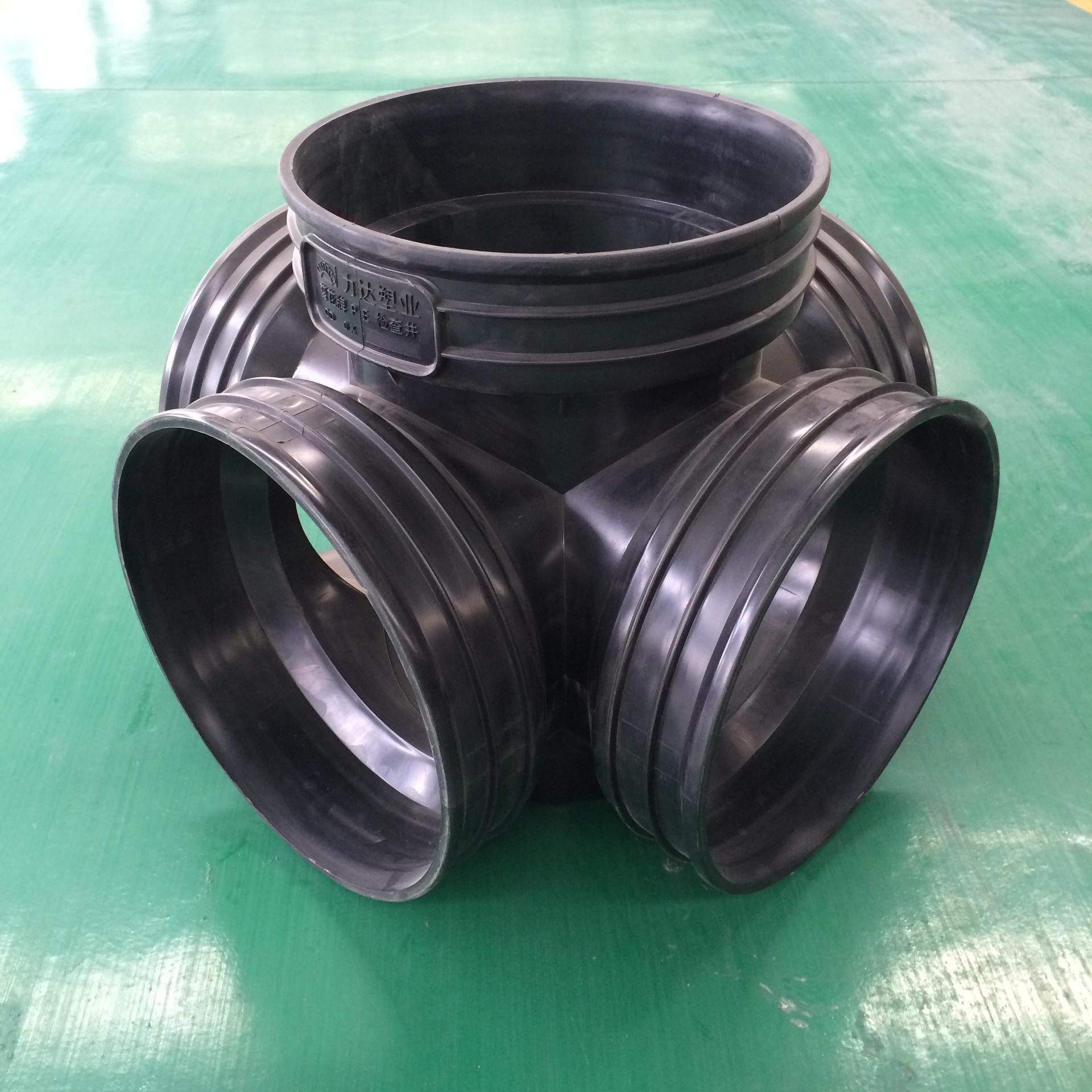 450*300流槽直通井 塑料检查井 华北大型生产厂家 售后服务有保证示例图3