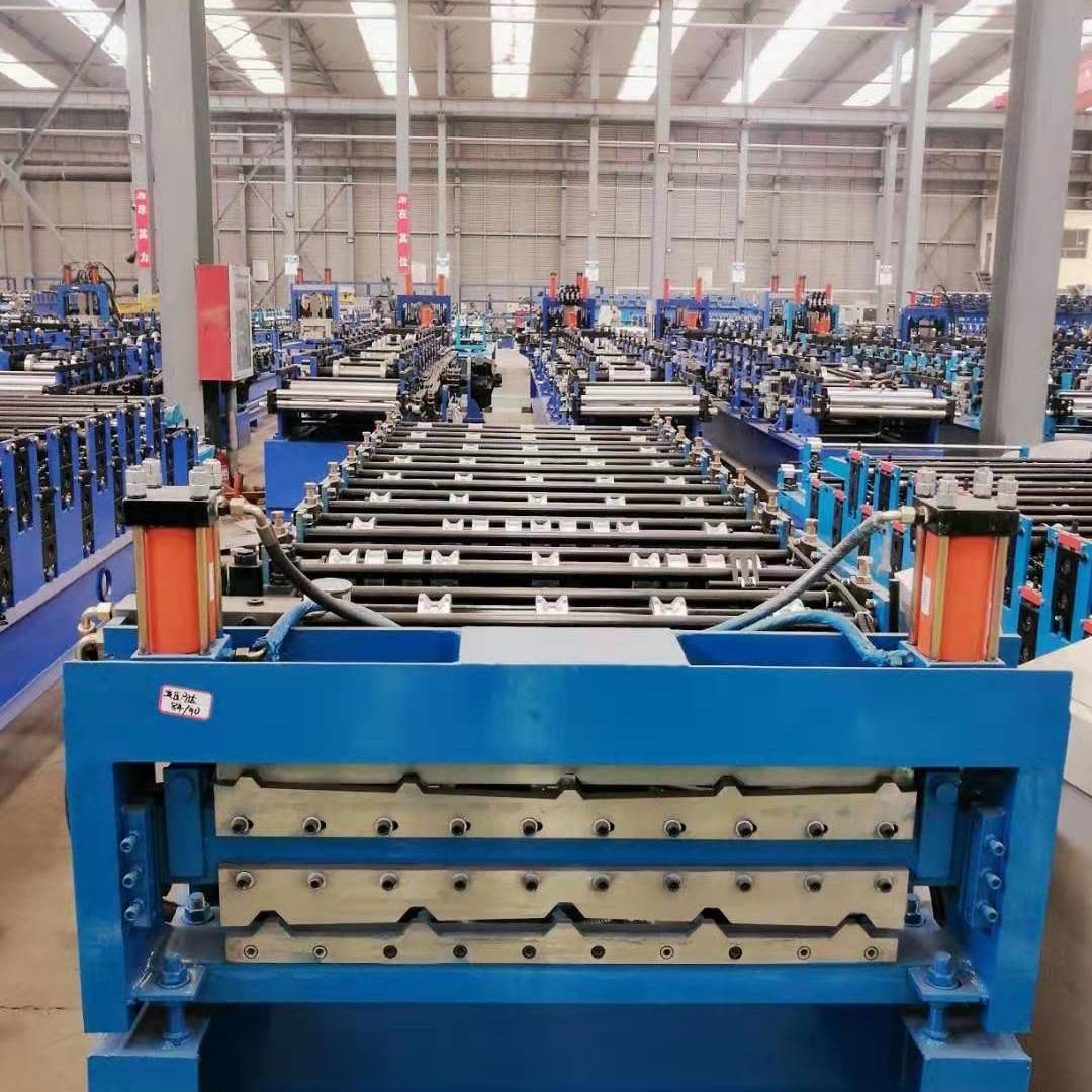 金誠信壓瓦機設備 全自動彩鋼壓瓦機 840-900雙層彩鋼設備 彩鋼瓦成型設備