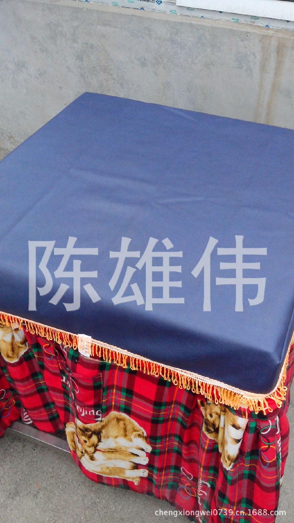 厂家供应皮革桌布 加厚皮子桌罩 皮子桌罩销售示例图5